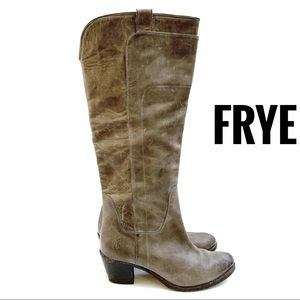 FRYE Tall Riding Boots Size 8